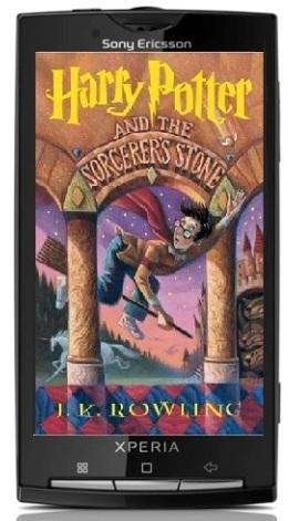 Android para obtener libros de Harry Potter a través de Google Books y Pottermore
