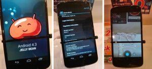 Android v4.3 visto en Thailand Mobile Expo