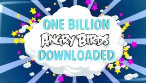 Angry Birds se ha descargado mil millones de veces