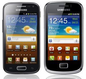 Antes del MWC, Samsung anuncia Galaxy Ace 2 y Galaxy Mini 2