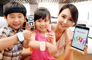 Anunciada la Smartband LG KizON para niños