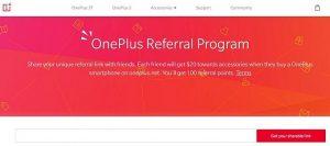 Anunciado el programa de referencia de OnePlus