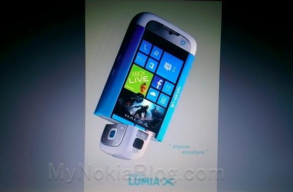 Aparece Nokia Lumia X, cámara giratoria junto con Windows Phone 8