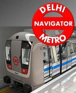 Aplicación Delhi Metro Navigator para Android