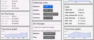 Aplicación Fuel Economy Calculator para BlackBerry y BlackBerry PlayBook
