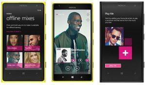 Aplicación Nokia Music renombrada como Nokia MixRadio