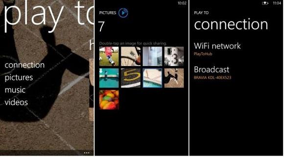 Aplicación Nokia Play To y Camera Extras disponible para dispositivos Lumia