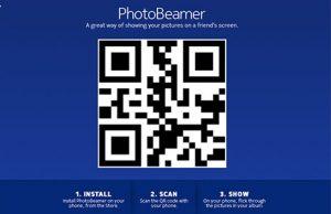 Aplicación PhotoBeamer para teléfonos inteligentes Windows Phone 8 Lumia lanzada por Nokia
