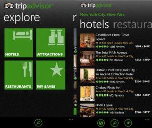 Aplicación de TripAdvisor para Windows Phone actualizada con el soporte de WP Mango