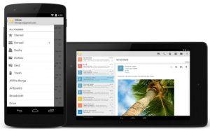 Aplicación de correo electrónico de acciones de Google lanzada en Play Store