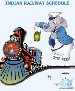 Aplicación de la semana: Indian Railway Schedule para Android