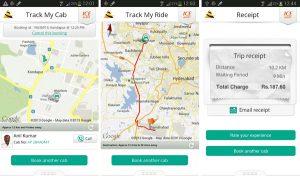 Aplicación móvil Meru para Android y iPhone para facilitar la reserva de taxis