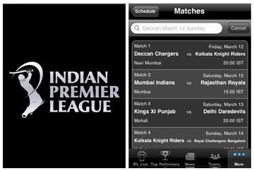 Aplicación oficial para iPhone de la Indian Premier League - IPL T20 disponible ahora