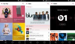 Apple Music para Android lanzado en Google Play Store