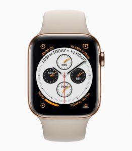 Apple Watch Series 4 anunciado, presenta pantalla curva de borde a borde, ECG y detección de caídas