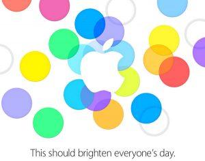 Evento de lanzamiento del iPhone de Apple el 10 de septiembre;  Invitaciones enviadas