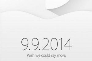 Apple celebrará un evento el 9 de septiembre, ¡se acerca el iPhone 6!