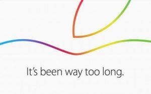 Apple confirma el evento del 16 de octubre, vienen nuevos iPads y Mac