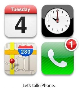 Apple envía una invitación para el evento de iPhone el 4 de octubre