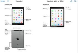 Apple iPad Air 2 y iPad mini 3 se filtraron antes del lanzamiento