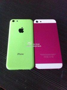 Apple iPhone Lite visto junto con el iPhone 5