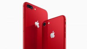 Apple iPhone 8 y iPhone 8 Plus (PRODUCT) RED Special Edition lanzada en India