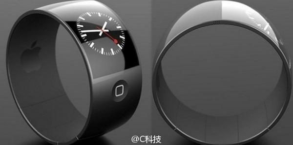Renders del concepto de iWatch de Apple