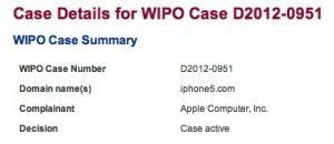 Apple intenta tomar el control del dominio iPhone5.com