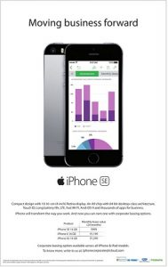 Apple lanza planes de arrendamiento corporativo para iPhone SE a un precio de Rs.  999 por mes