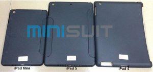 La supuesta funda para iPad 5 sugiere un diseño similar al iPad Mini, se espera el lanzamiento en junio