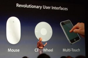 Apple obtiene una importante patente Multi-Touch