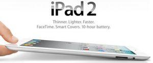 Se anuncia el iPad 2 y es un 33% más delgado