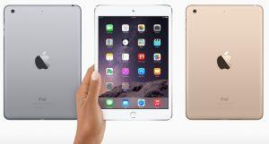 Se anuncia el Apple iPad Mini 3 con pantalla Retina de 7,9 pulgadas y sensor Touch ID