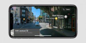 Apple reconstruye Maps para ofrecer imágenes en 3D similares a Street View para tomar en Google Maps
