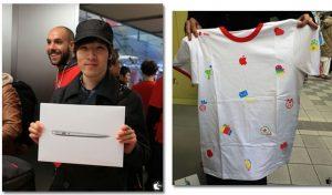 Apple regala iPad Air y más en 'bolsas de regalo de la suerte'