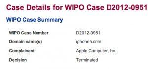 Apple se apodera con éxito del dominio iPhone5.com