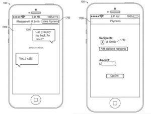Apple solicita una patente para agregar pagos de igual a igual a iMessage