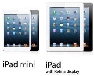 Apple vendió 3 millones de iPad Mini y iPad de cuarta generación en 3 días