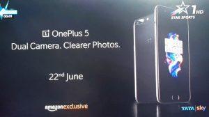 Aquí está el OnePlus 5 en su totalidad