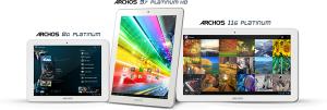 Archos lanza la nueva serie Platinum de pestañas económicas