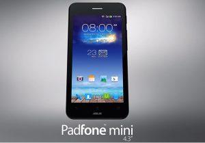 Asus Padfone Mini con pantalla de 4.3 pulgadas y estación de acoplamiento de 7 pulgadas anunciado