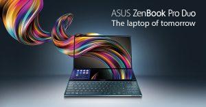 Asus ZenBook Pro Duo y ZenBook Duo anunciados antes de Computex 2019