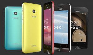 Presentación de la línea de teléfonos Asus ZenFone;  el precio comienza en $ 99.99