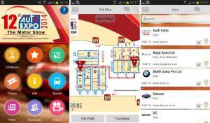Auto Expo - Lanzamiento de la aplicación Motor Show 2014