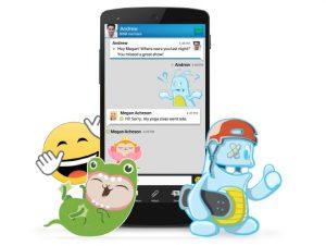 BBM para Android e iOS actualizado, trae pegatinas y más