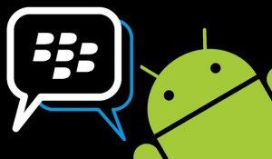 La imagen filtrada indica que BlackBerry Messenger podría estar dirigido a Android