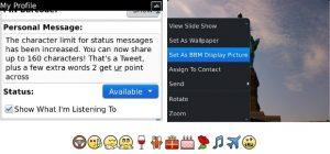 BBM v6.1 Beta trae avatar animado, nuevos emoticonos y más