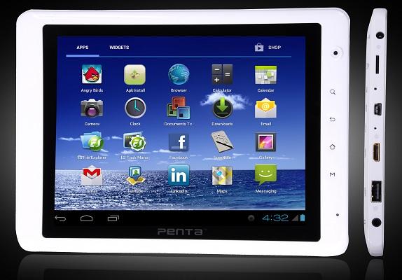 BSNL Penta T-Pad WS802C, tableta Android 4.0 de 8 pulgadas lanzada para Rs.  14,699