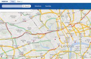 Bing Maps recibe consejos de tráfico en vivo y codificación geográfica gracias a Nokia