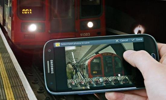 Black Galaxy S III aparece en la página de Facebook de Samsung